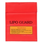 Small High Temperature Resistance Explosion-proof Bag for R/C Airplane Batteries - Red + Yellow