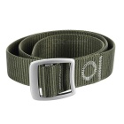 outdoor tactische nylon riem w / zinklegering buckle - legergroen