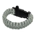 FURA Sports 7-Core Bracelet w/ Whistle / Saw Cutter - Blue Camouflage