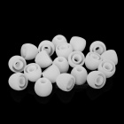 Noise Reduction Environmental Silicone Earcaps - White (20PCS)