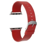 Micro Fiber Watch Band w/ Attachments for APPLE WATCH 38mm - Red