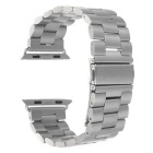 Mini Smile Stainless Steel Watch Band w/ Attachments for 42mm APPLE WATCH - Silver