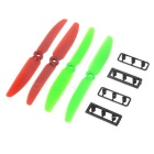 ABS Propeller Set for R/C Quadcopter / QAV250 - Red + Green