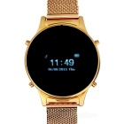 L1 Bluetooth V3.0 Smart Watch w/ Call Reminder / Music Sync / Far-end Notice - Golden