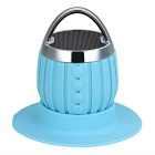 Waterproof Bluetooth V3.0 Subwoofer Outdoor Sports Speaker w/ TF Slot & Hands-Free - Blue