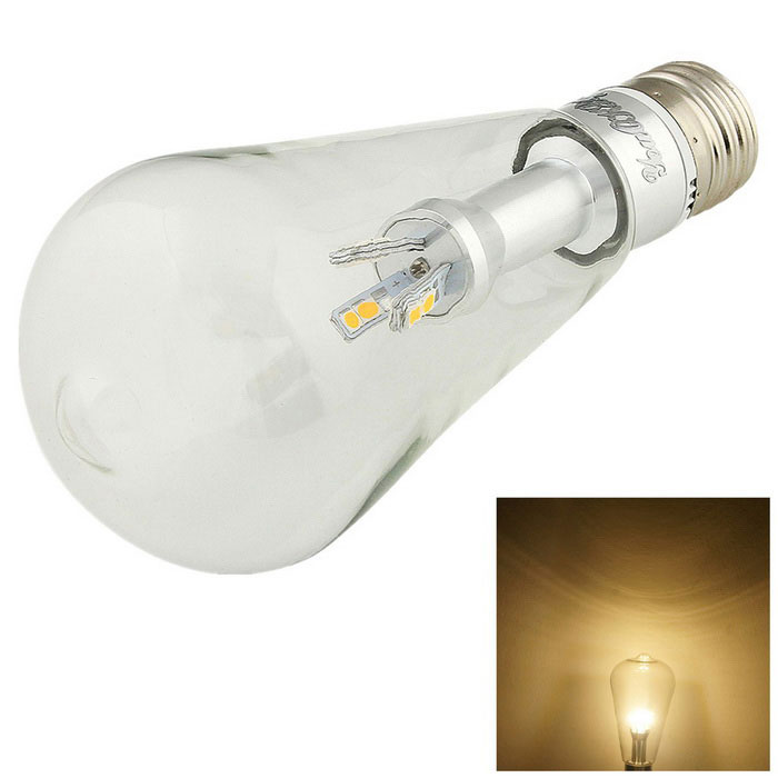 YouOKLight E27 6W 12-LED Globe Light Bulb Warm White 580lm (110~120V)