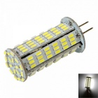 G4 8W LED Corn Lamp Bulb White Light 6000K 720lm 126-SMD 3014 (AC / DC 12~24V)