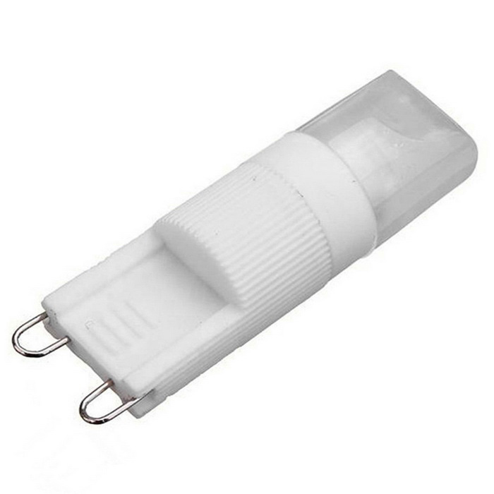 Dimmable G9 3W COB 270lm Cold White Light LED Corn Bulb (AC 220~240V)