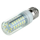 E27 5W LED Corn Lamp Cool White Light 700lm 6500K 56-SMD 5730 (AC 220~240V)