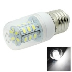 HONSCO E27 4W LED Clear Cover Corn Bulb Light Cool White 6500K 280lm 24-5730 SMD (AC 220V)