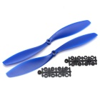 "Nylon 10x4.5"" CW & CCW Propellers Set for DJI F450 / 500 / F550 FPV Multi-Copter Quadcopter - Blue"