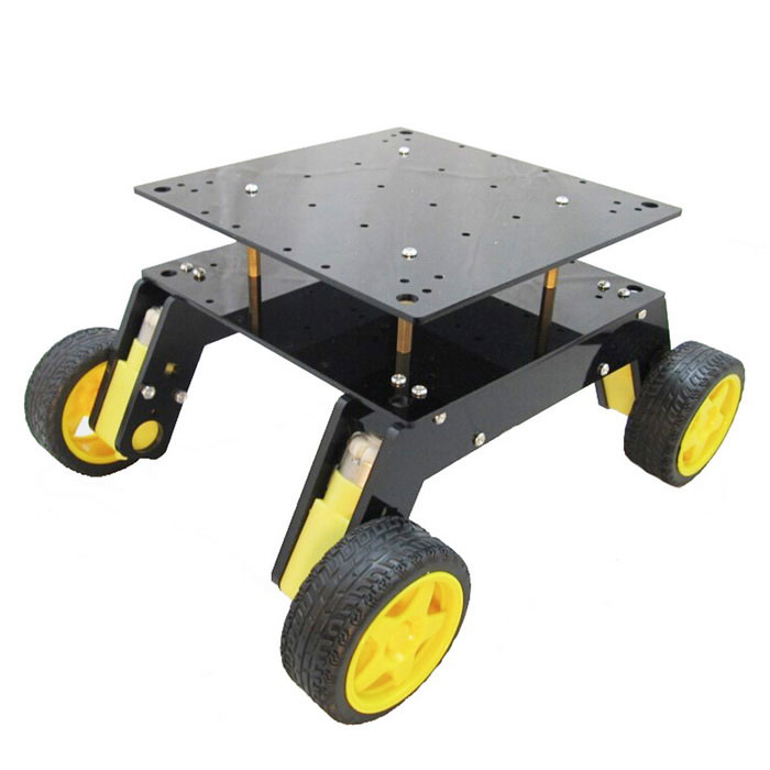Smart robot car chassis kit for arduino free shipping