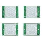 IR Infrared Motion Detection Sensor Modules - Green (DC 5~20V / 4 PCS)