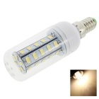 HONSCO E14 4W LED Clear Cover Corn Light Bulb Warm White 300lm 3000K 36-5730 SMD (AC 220V)