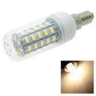 HONSCO E14 4.5W LED Clear Cover Corn Light Bulb Warm White 350lm 3000K 48-5730 SMD (AC 220V)