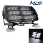 MZ Universal 30W 900lm 18-LED Car Flashing Warning Light White Light (12V)