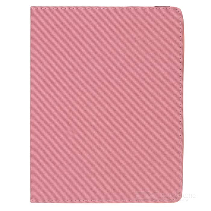 Grid Pattern Protective Case w/ Stand for IPAD 2 / 3 / 4 - Pink