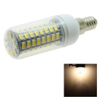 HONSCO E14 6.2W LED Corn Bulb Lamp Warm White Light 3000K 470lm 72-SMD 5730 (AC 220V)