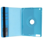Grid Pattern Protective Case w/ Stand for IPAD 2 / 3 / 4 - Sky Blue