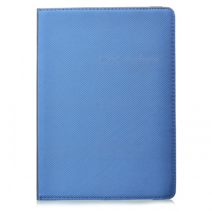 360 'Ротационная сетка PU PU Smart Case для IPAD AIR 2 - Deep Blue