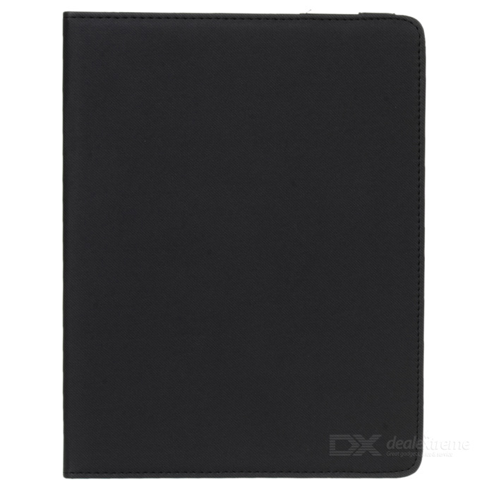 Grid Pattern Protective Case w/ Stand for IPAD 2 / 3 / 4 - Black