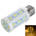 E27 5W LED Corn Light Bulb Warm White 2882K 24-5730 - White + Orange