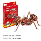 DIY 3D Puzzle Insect Ant Toy - Red