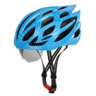 SAHOO Outdoor Cycling Cool Bike Safety Helmet w/ Goggles - Blue