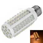 E27 7W 108-LED strawhat lamp warm wit 3000K 410lm - wit (AC 220V)