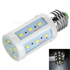 E27 5W 24-SMD 5730 Corn Lamp Cold White Light 380lm (AC 220~240V)
