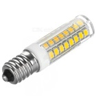 E14 7W 3200K 450lm 51-SMD 2835 bulbo branco morno (5PCS / 220V)