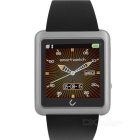 "U10L 1.54"" Bluetooth V4.0 Smart Wristwatch w/ Pedometer / Stopwatch / Voice Call - Silver"