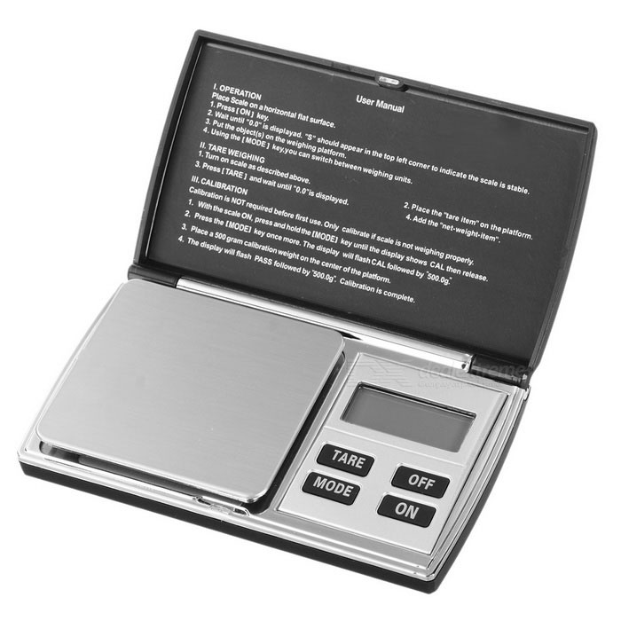 "KL-08 1.5"" LCD Pocket Digital Jewelry Balance Scale (200g / 0.01g)"