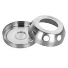 Portable Outdoor Stainless Steel Alcohol Stove / Ashtray - Silver