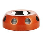 Portable Outdoor Stainless Steel Alcohol Stove / Ashtray - Orange