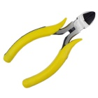 "5"" 125mm Diagonal Cutting Pliers - Yellow + Silver"