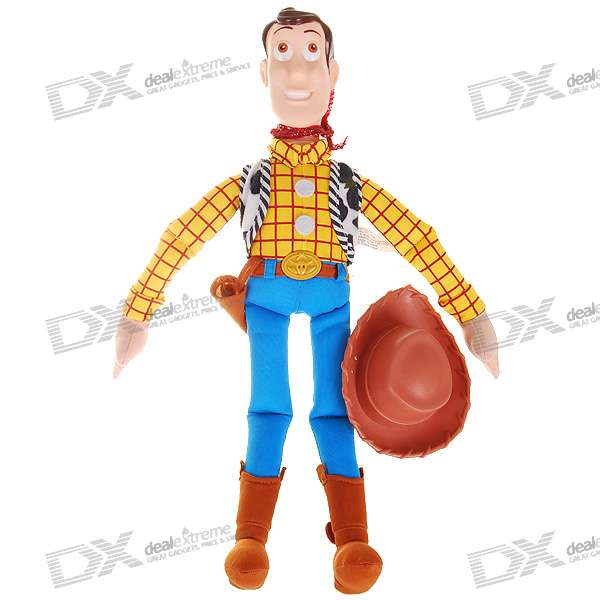 Woody Action Figure Doll Toy with Hard Plastic Head and Hat original box sonic the hedgehog vivid nendoroid series pvc action figure collection pvc model children kids toy