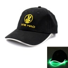 Baseball LED Cap Green Lighting