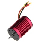Sensorless Brushless 9T 4350KV Car Motor - Red + Yellow + Multicolor