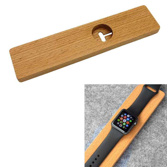 WoodenChargingStandHolderforAPPLewatch-BeechColor