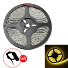 JIAWEN® Waterproof 5M 36W 2800lm 600x3528 SMD 3200K Warm White Light LED Strip Lamp (12V)