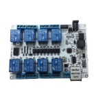 48J60 8-Channel Network Relay Module - White + Multi-Colored