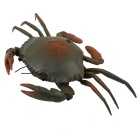 Simulation Remote Control Charging Crab Toy - Black + Orange