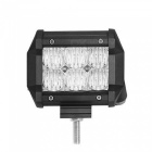 30W 6-LED Off-road 4WD UTV Worklight Bar Lamp w/ Lens White Flood Beam 2550lm 6000K (DC 10~30V)