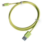 CARVE MFi  8Pin Lightning Male to USB 2.0 Male Cable for IPHONE 6 / IPAD / IPOD - Yellow (100cm)
