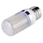 E27 12W LED Corn Bulb Light Warm White 3000K 1020lm 120-SMD 3014 with Striped Cover (AC 85~265V)
