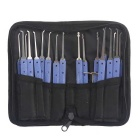 NEJE 20-in-1 Stainless Steel Lock Pick Set / Locksmith Tools (20PCS)