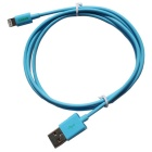 CARVE 8Pin relámpago M a USB2.0 M cable de datos para IPHONE 6 - azul (1m)