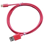 CARVE MFi  8Pin Lightning Male to USB 2.0 Male Data Cable for IPHONE 6 / IPAD / IPOD - Pink (100cm)