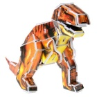 DIY 3D Puzzle Dinosaur Toy - Brown